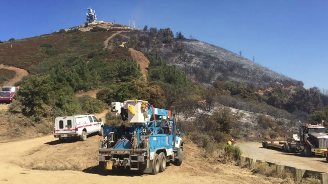 Loma Fire 92 Percent Contained, PG&E Restores Power