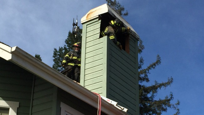 -BAY BW BCN]Santa Rosa Chimney Fire Causes $10,000 in Damage