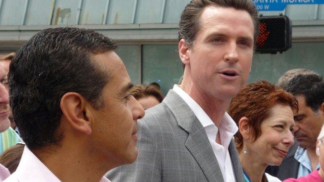 Newsom's Hispanic-Friendly Pick for Campaign Chair