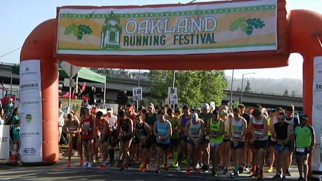 Bay Area Athletes Impress at Oakland Running Festival