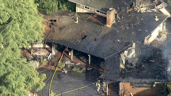 Extensive Damage, No Injuries Following House Fire in Los Altos