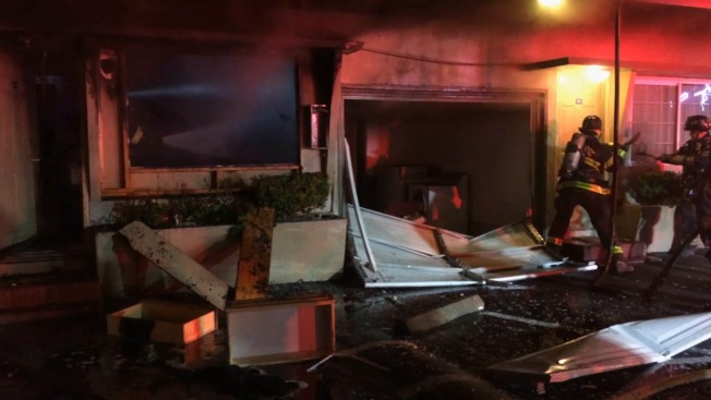 2 critically injured in explosion inside California motel