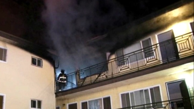 Person Leaps from Window to Escape Oakland Apartment Blaze