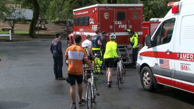 One Hospitalized, About 30 Treated for Hypothermia at North Bay Triathlon