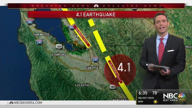 4 1 magnitude earthquake shakes south bay