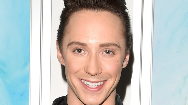 Johnny Weir Dons Football-Inspired Outfit to Super Bowl Pre-Game
