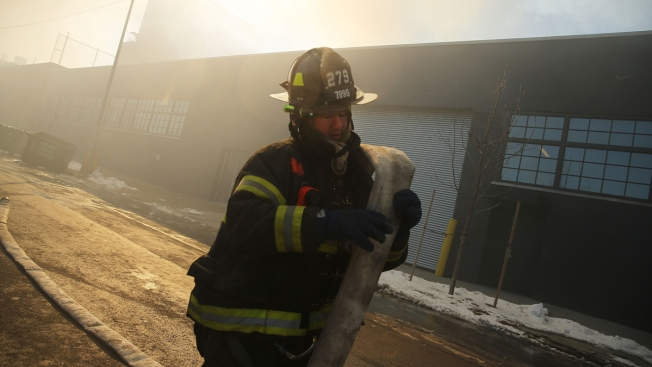 FDNY Battles 7-Alarm Warehouse Blaze for 2nd Day