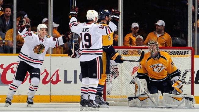 2015 NHL Playoffs: Blackhawks Beat Predators 4-3 in Double OT