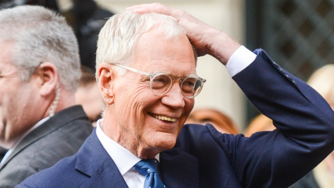 "David Letterman ""Flattered"" CBS Picked Stephen Colbert as His ""Late Show"" Replacement"