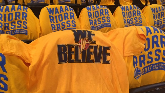 Warriors to Honor 'We Believe' Squad During Game 1 of Western Conference Semifinals