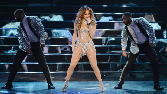 Jennifer Lopez Kicks Off Las Vegas Residency, Performs With Ja Rule, Ne-Yo and Pitbull