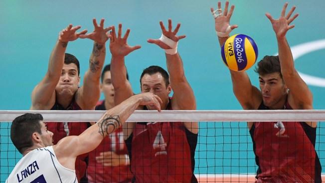 Men's Volleyball: Italy Beats US 3-1