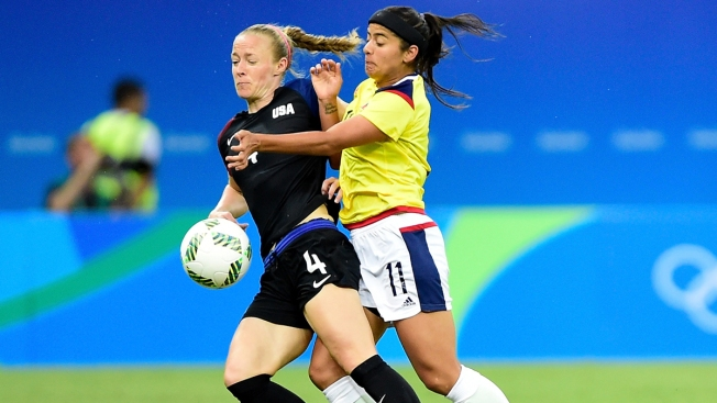 6a3c420ce47 Colombia Comes Back to Tie US in Women s Soccer - NBC Bay Area