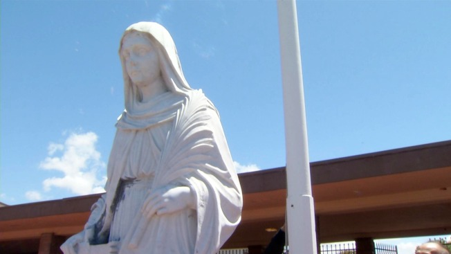 Man Arrested for Allegedly Shooting Church Statue in San Leandro