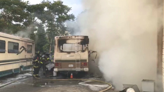 San Jose RV Fire Affects VTA Service From Diridon Station