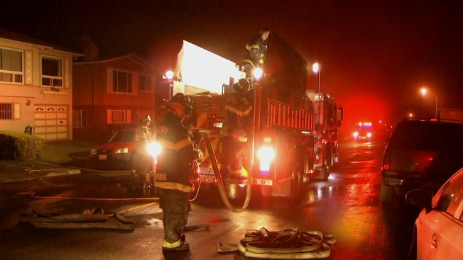 Daly City House Fire Injures 1 Person, Displaces 5