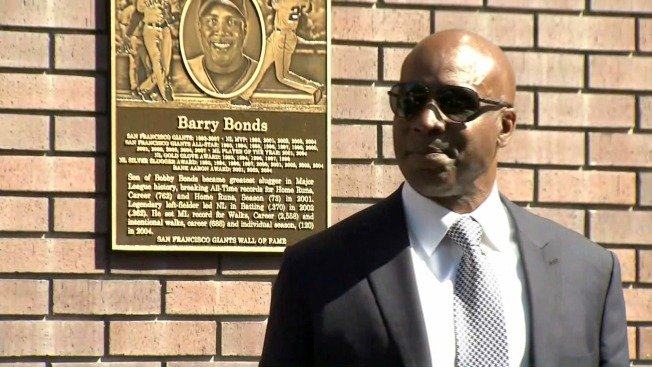 Barry Bonds Cemented on San Francisco Giants' Wall of Fame