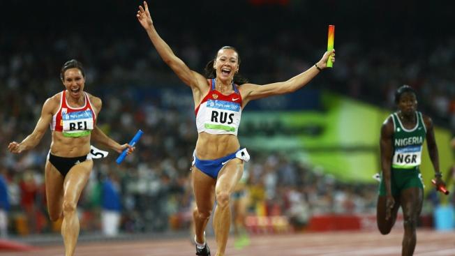IOC Strips Russia of 2008 Track Relay Gold Medal After New Positive Doping Test