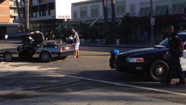 Man Carjacks 'Back to the Future' DeLorean Lookalike, Crashes