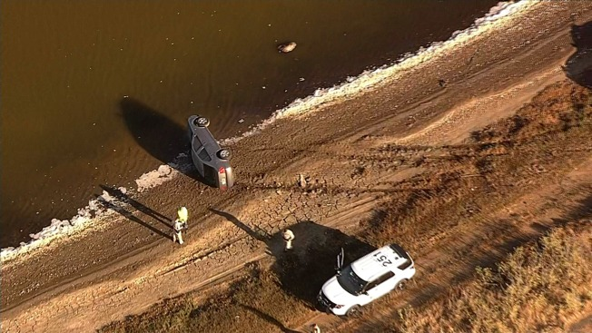 Car Careens Off Dumbarton Bridge, Lands on Driver's Side in Shallow Water