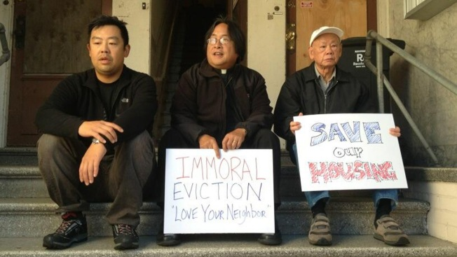 Tech CEOs Who Evicted Tenants Targeted By Protesters