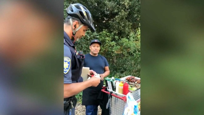 Raw Hot Dog Vendors Ticket Sparks Outrage At Uc Berkeley
