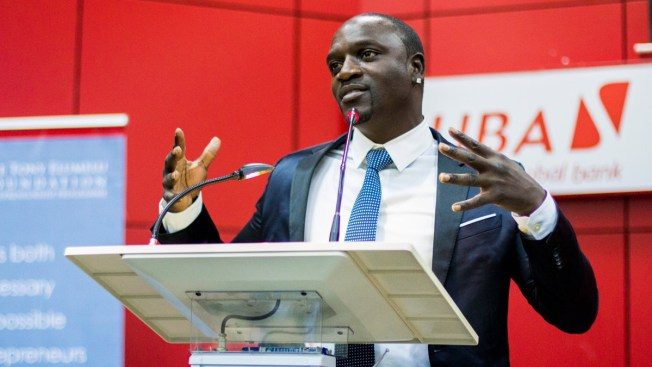 Akon Lights Up Africa One Solar Panel at a Time