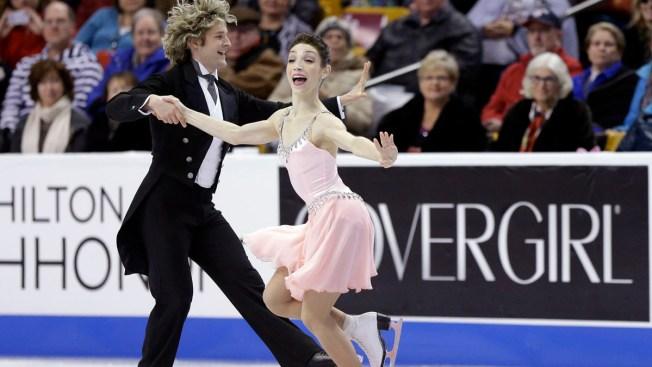 Davis-White, Abbott Win Short Programs