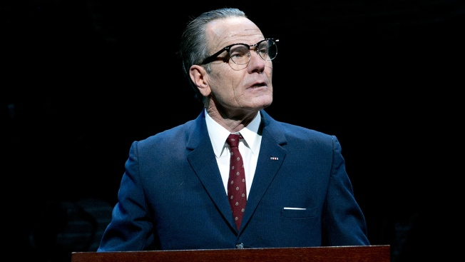 Bryan Cranston Takes LBJ 'All the Way'