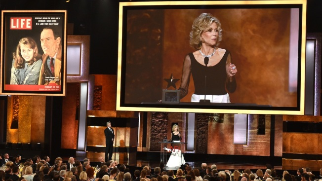 AFI Honors Jane Fonda With Lifetime Achievement Award