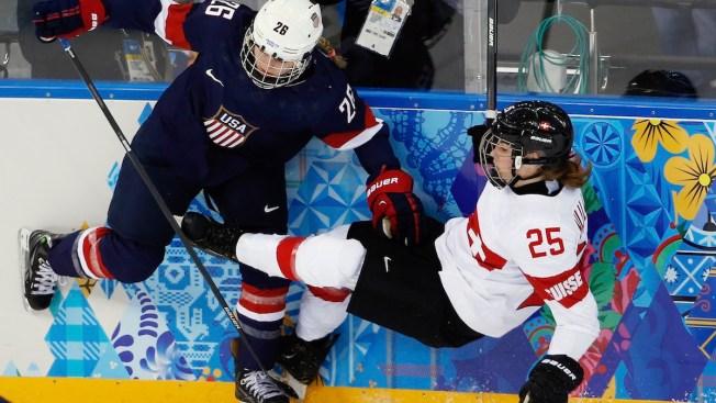 On Golden Ponds: U.S. Women Deliver Knockout Against Swiss