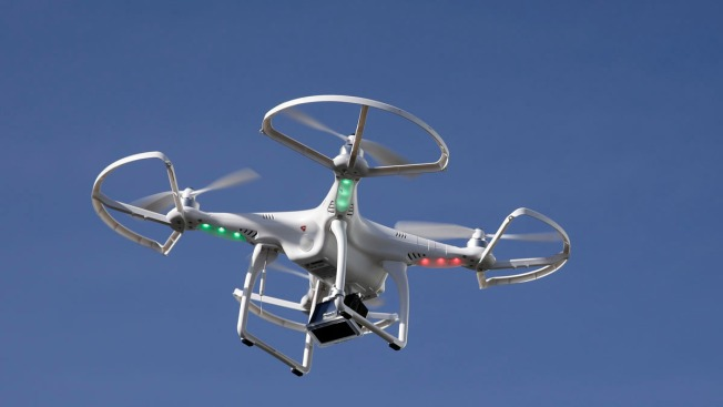 Fallen Drone Agitates Alamo Square Neighbors