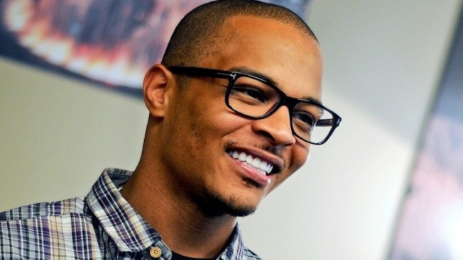 T.I. Announces Surprise Release at Twitter Headquarters