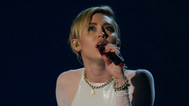 Miley Cyrus Twerks and Smokes Joint at MTV Europe Music Awards