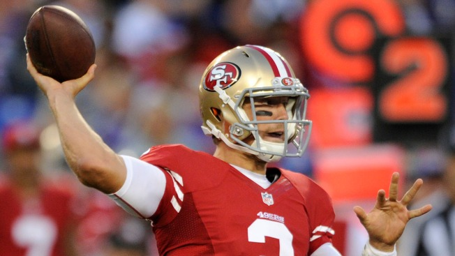 Niners, Gabbert Have Ugly Debut