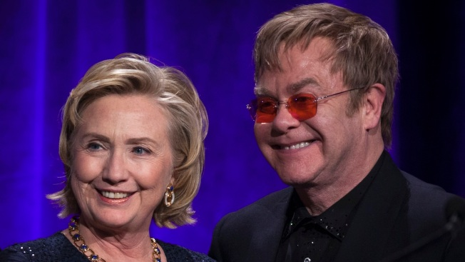 Hillary Clinton Honored for Her Work on HIV/AIDS