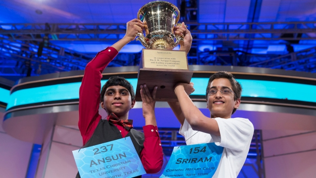 T-I-E! Sriram Hathwar, Ansun Sujoe Share Scripps National Spelling Bee Title as Co-Champions