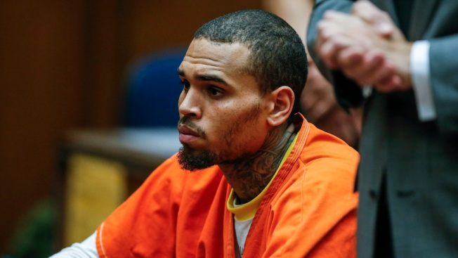 Chris Brown Taken Into Custody by U.S. Marshals