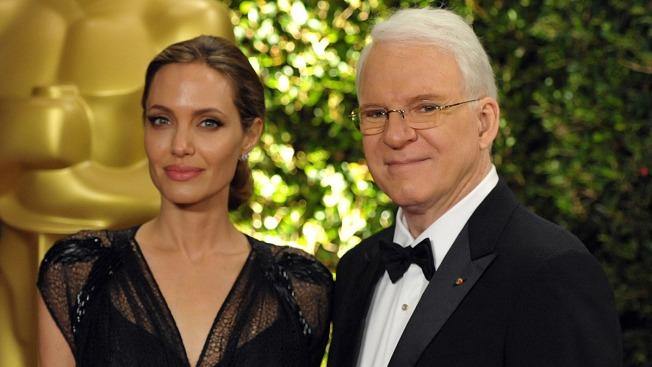 Jolie, Martin Moved to Tears at Governors Awards