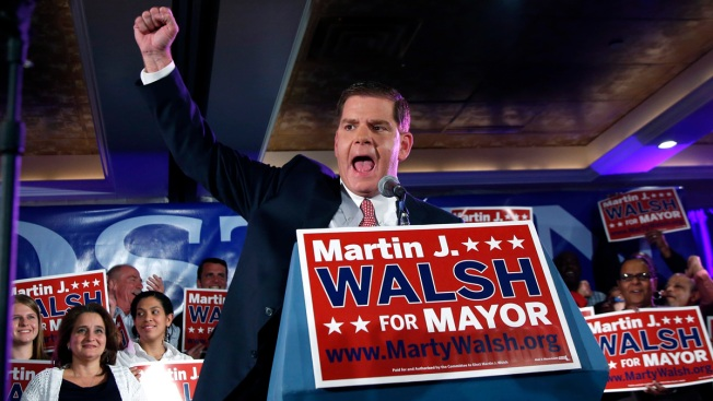 Boston Swears in First New Mayor in 20 Years