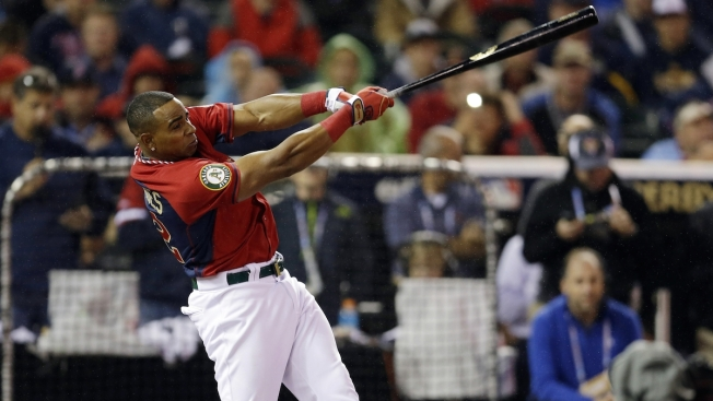 Yoenis Cespedes Wins Again, Beating Todd Frazier in HR Derby