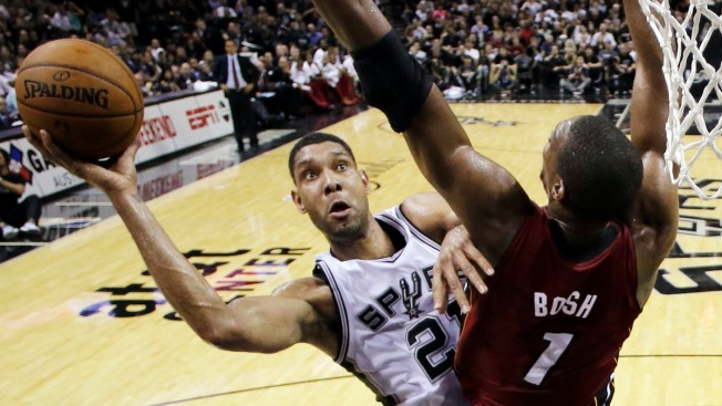 Spurs Handle Heat, Win 110-95 in NBA Finals Game 1