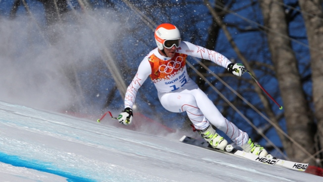 "Bode Miller Fastest in Last Downhill Training Run on ""Treacherous"" Sochi Course That ""Could Kill You"""
