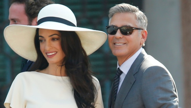[NATL] George Clooney's Venice Wedding