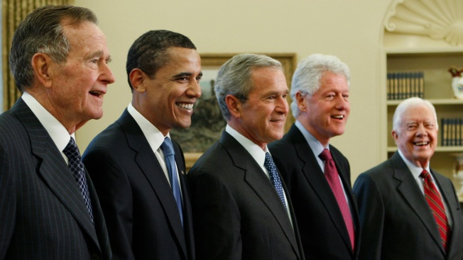 Ex-Presidents to Attend Texas Concert for Hurricane Relief