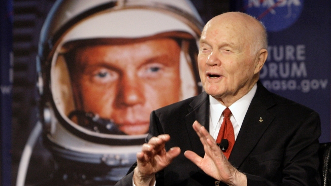 Former astronaut, US Sen. John Glenn hospitalized in Ohio