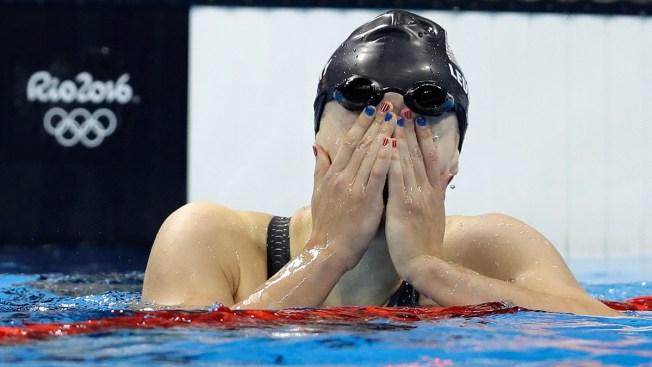 Olympians, Fans Sport Patriotic Nail Polish