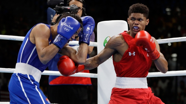 US, Cuban boxers fight for bantamweight gold