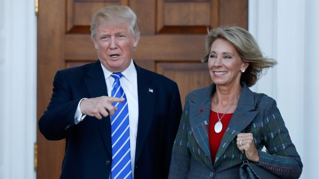 Trump To Nominate Betsy DeVos As Education Secretary