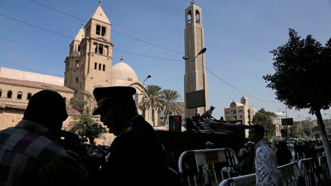 Bombing at Egypt's Main Coptic Christian Cathedral Kills 25